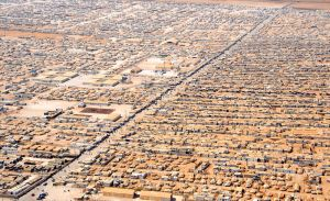 Syrian refugee camp in Jordan.  Photo: Department of State