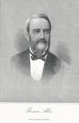 Thomas Allen donated $50,000 to build the Athenaeum in 1876.